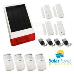 CastleGate Wireless Solar House Alarm Solution 7